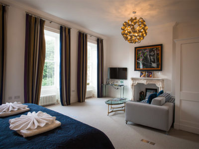 Master Suite - Berkley Square House. Accommodation in Bristol, United Kingdom